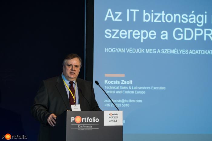 Kocsis Zsolt (technológiai vezető, IBM Security): IT-biztonsági megoldások a GDPR-ban - Hogyan védjük meg a személyes adatokat?
