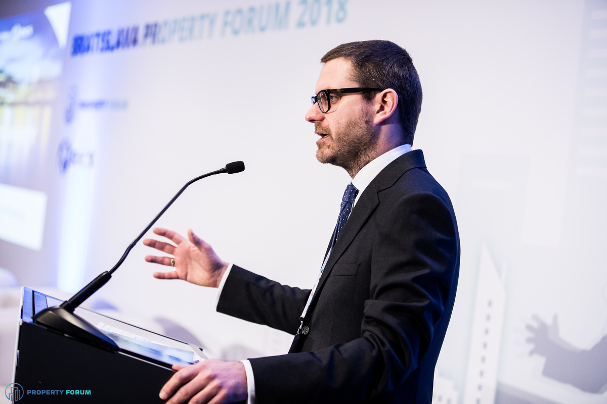 Csanád Csűrös, CEO of Property Forum