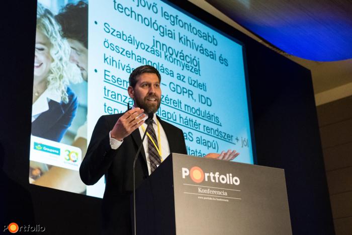 Budai-Tüske Gábor (informatikai igazgató) a Groupama Biztosító technológiai projektjeiről
