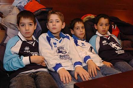 Az OTP-MOL Bozsik program négy legjobb ifjú focistája