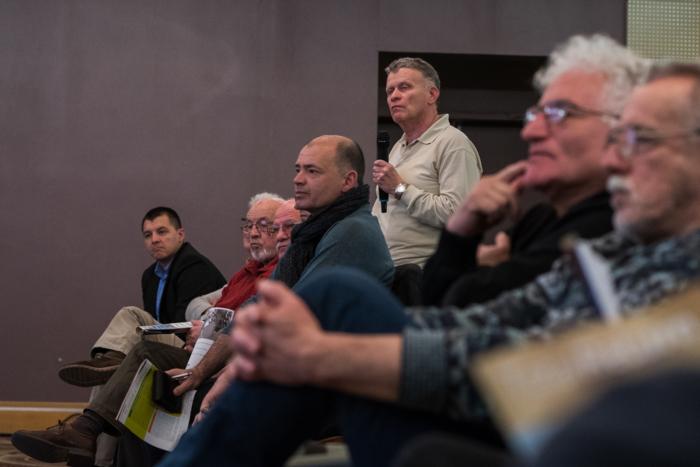 A közönség tagjai is feltehették kérdéseiket