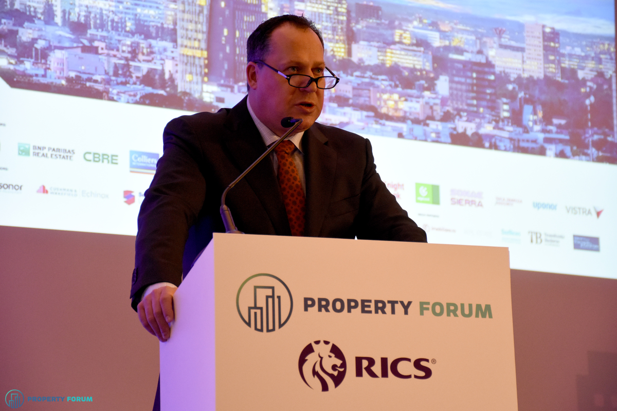 Welcome speech: Maarten Vermeulen FRICS (Regional Managing Director for Europe, Russia & CIS, RICS)
