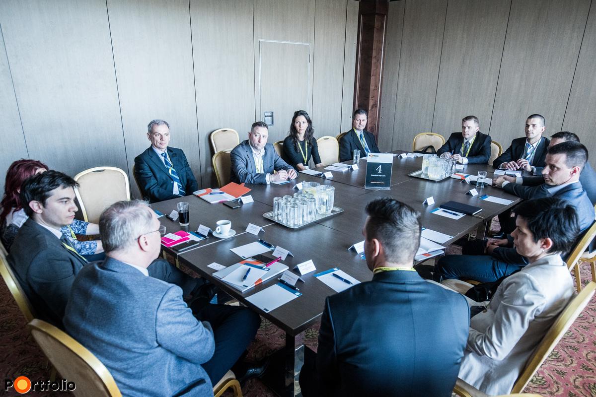 Workshop: Beszállító-fejlesztés. Témavezető: Szincsák Attila (General Manager of Business Administration, Denso Gyártó Magyarország Kft.)