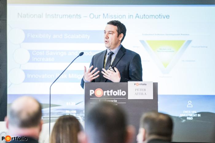 Péter Attila (értékesítési vezető, National Instruments Hungary Kft.) - Megoldások a következő generációs ADAS és szenzor fúziós rendszerek tesztelésének kihívásaira