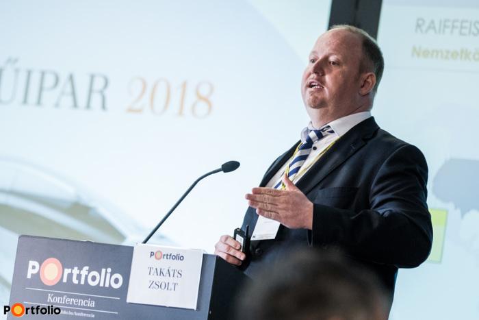 Takáts Zsolt (igazgató, Kereskedelem és exportfinanszírozási terület, Raiffeisen Bank): Fejlesszünk, de miből? Eszközök és források a termeléshatékonyság javítására