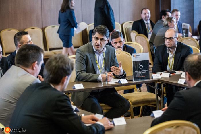 Workshop: Ipar4.0 - Jó gyakorlatok és fejlesztési projektek. Témavezető: Szabó Péter (ügyvezető, S&T Consulting Hungary Kft.)