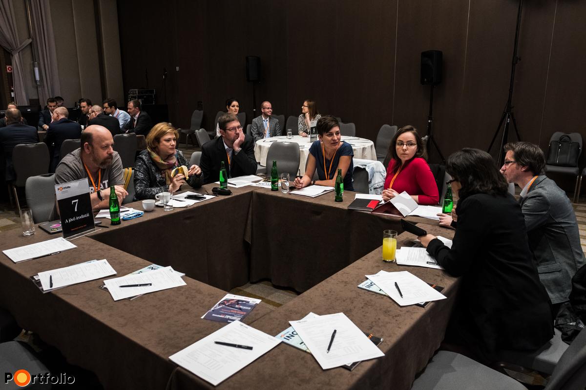 Körasztalos networking: A jövő irodistái - Témavezető: Pottok Judit (E.ON Hungária Zrt. - Vezető HR Business Partner, Y2Y Business Coaching - Társalapító, Business Coach)