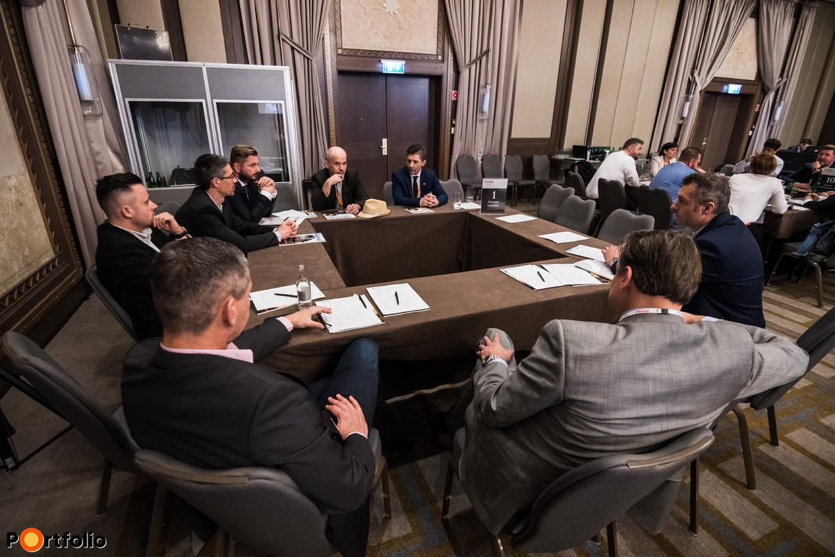 Körasztalos networking: FM-piaci innováció - Témavezető: Vágó László (vezérigazgató, STRABAG Property and Facility Services Zrt.)