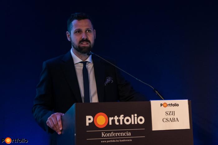 Ditróy Gergely (ingatlandivízió-vezető, Portfolio), a rendezvény szakmai szervezője köszöntötte a vendégeket.