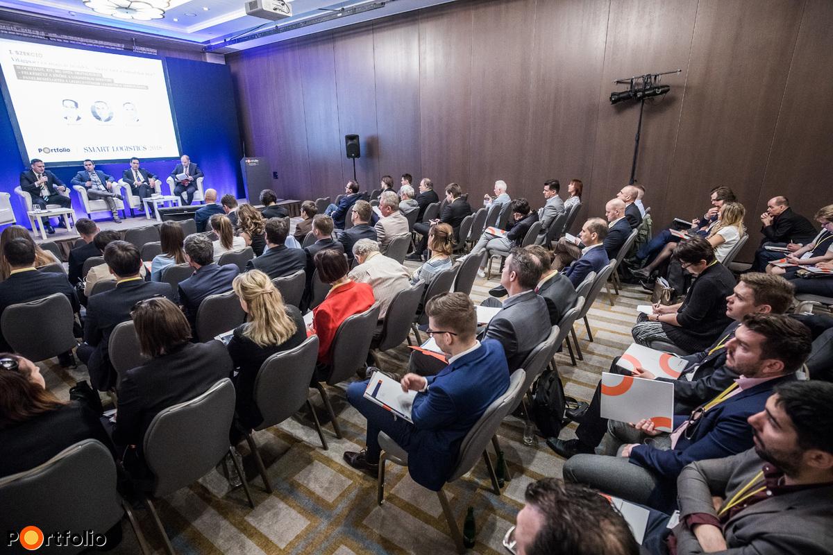 Csaknem 150 fő részvételével került megrendezésre a Portfolio Smart Logistics 2018 konferencia