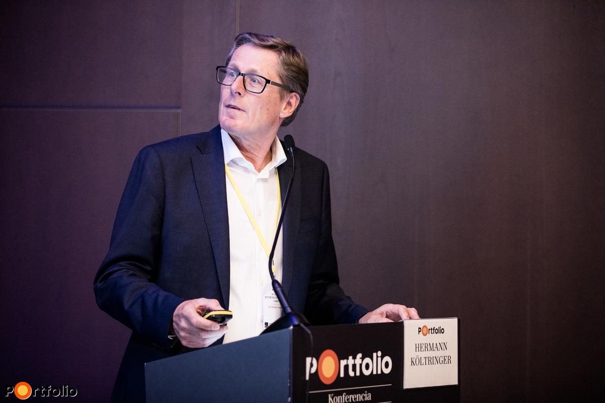 Hermann Költringer (ügyvezető igazgató, Augustin Quehenberger Group Gmbh): Kiszállítási trendek: night delivery és a last mile kihívásai