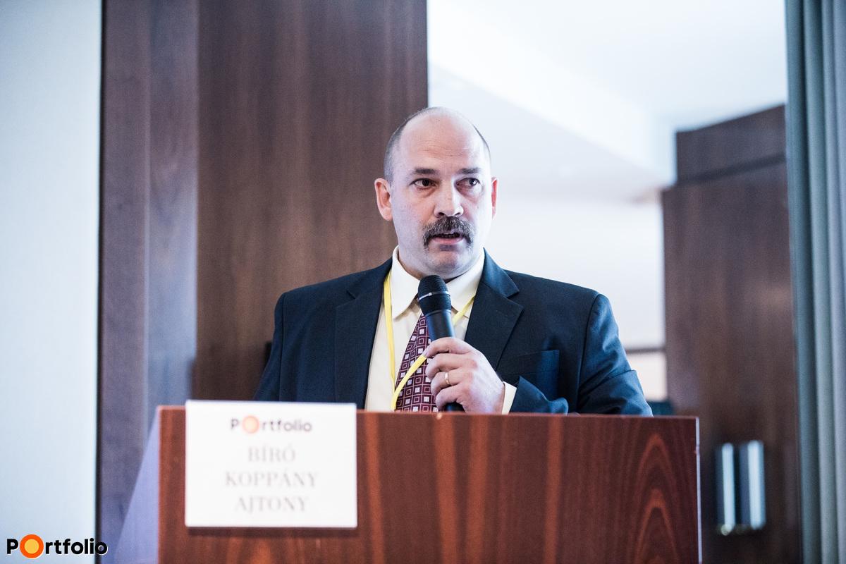 Bíró Koppány Ajtony (főtitkár, Magyarországi Logisztikai Szolgáltató Központok Szövetsége): Logisztikai szolgáltató központok - fejlesztési trendek és újdonságok