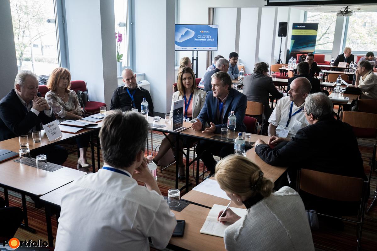 3. asztal  Szegvári János (Sales Manager, TechData) vezetésével - Digitális transzformáció - Microsoft felhő megoldásokkal