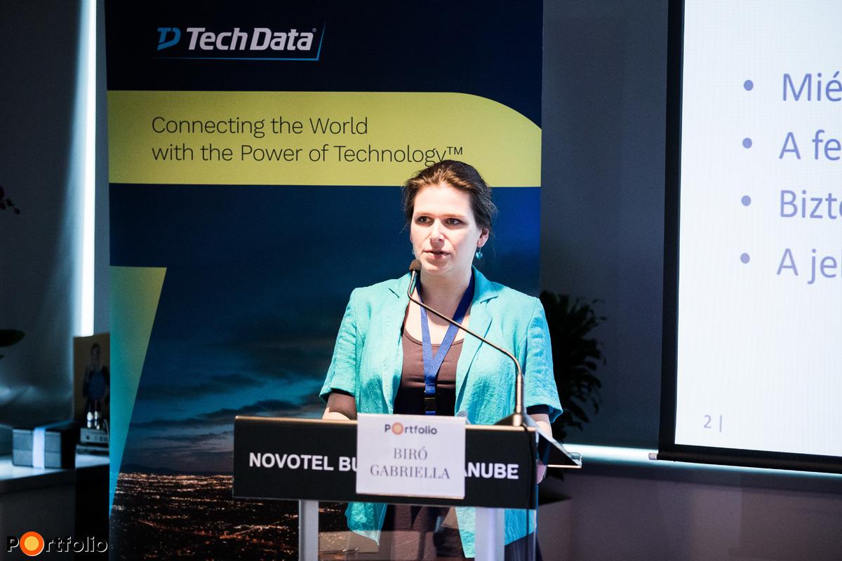 Biró Gabriella (Informatikai felügyeleti főosztály vezetője, Magyar Nemzeti Bank): Felhős megoldások szabályozói szemmel