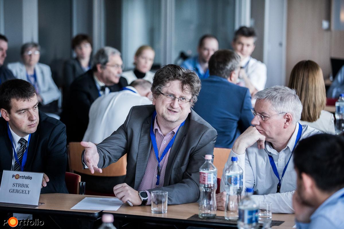2. asztal Strbik Gergely (Oracle business unit manager, TechData) vezetésével -  Digitális transzformáció - Oracle felhő megoldásokkal