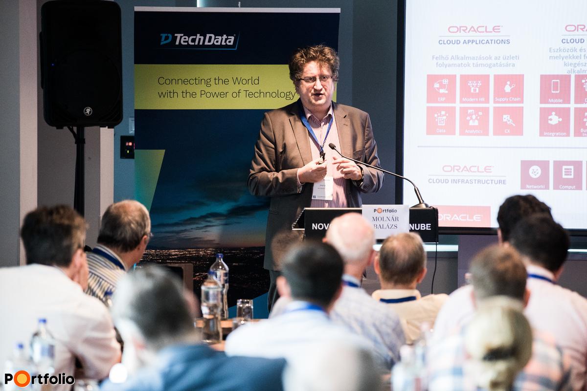 Molnár Balázs (Oracle Cloud Architect, Oracle): A legkorszerűbb technológiák kapcsolódása a felhőhöz, különlegességek az Oracle felhő megoldásában