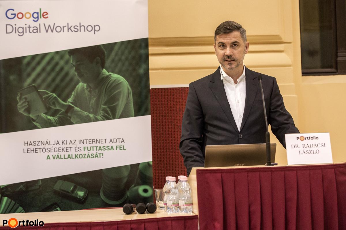 Dr. Radácsi László (igazgató, Budapest LAB): Digitális vágyak - analóg valóság: egy friss kkv-kutatás tanulságai