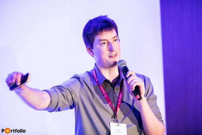 Mudri György (CEO, Wyze): Fintech session pitch 1 - Bank-Fintech együttműködés gyorsan és egyszerűen. Álom, vagy valóság?