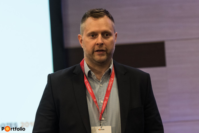 Czeglédi Tamás MBA (társalapító, Blockchaineum), a Blockchain a bankok szolgálatában c. szekció moderátora.