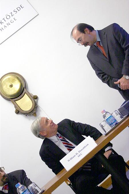 William H. Donaldson and Zsolt Horváth
