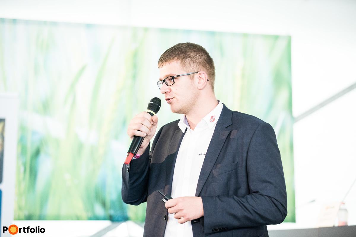 Markovics Tamás (termékmenedzser, Kuhn Center Magyarország Kft.): Minőségi vetés, mennyiségi hozam Kuhn gépekkel