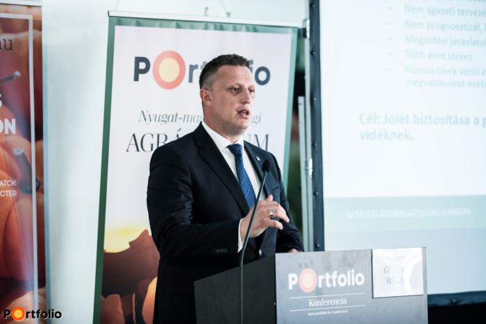 Győrffy Balázs (elnök, Nemzeti Agrárgazdasági Kamara): Köszöntő - Újjáalakult agrárkamara: mit tesznek az agrárpiaci szereplők érdekében?