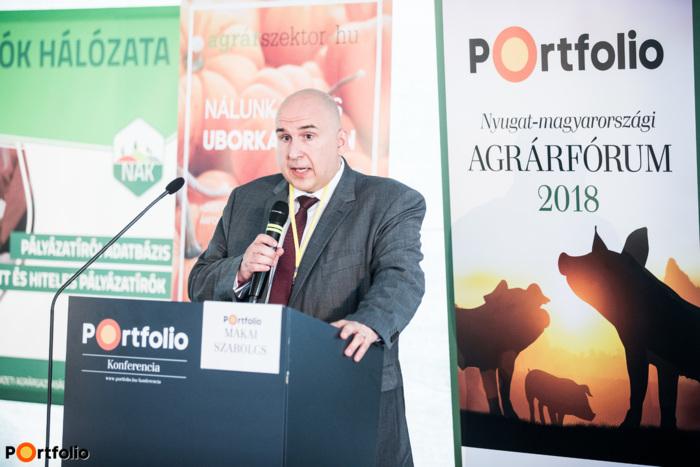 Makai Szabolcs (elnök-vezérigazgató, Cargill Takarmány Zrt.): Világszínvonalú technológiák Magyarországon - A Cargill pápai takarmánygyárának beruházása