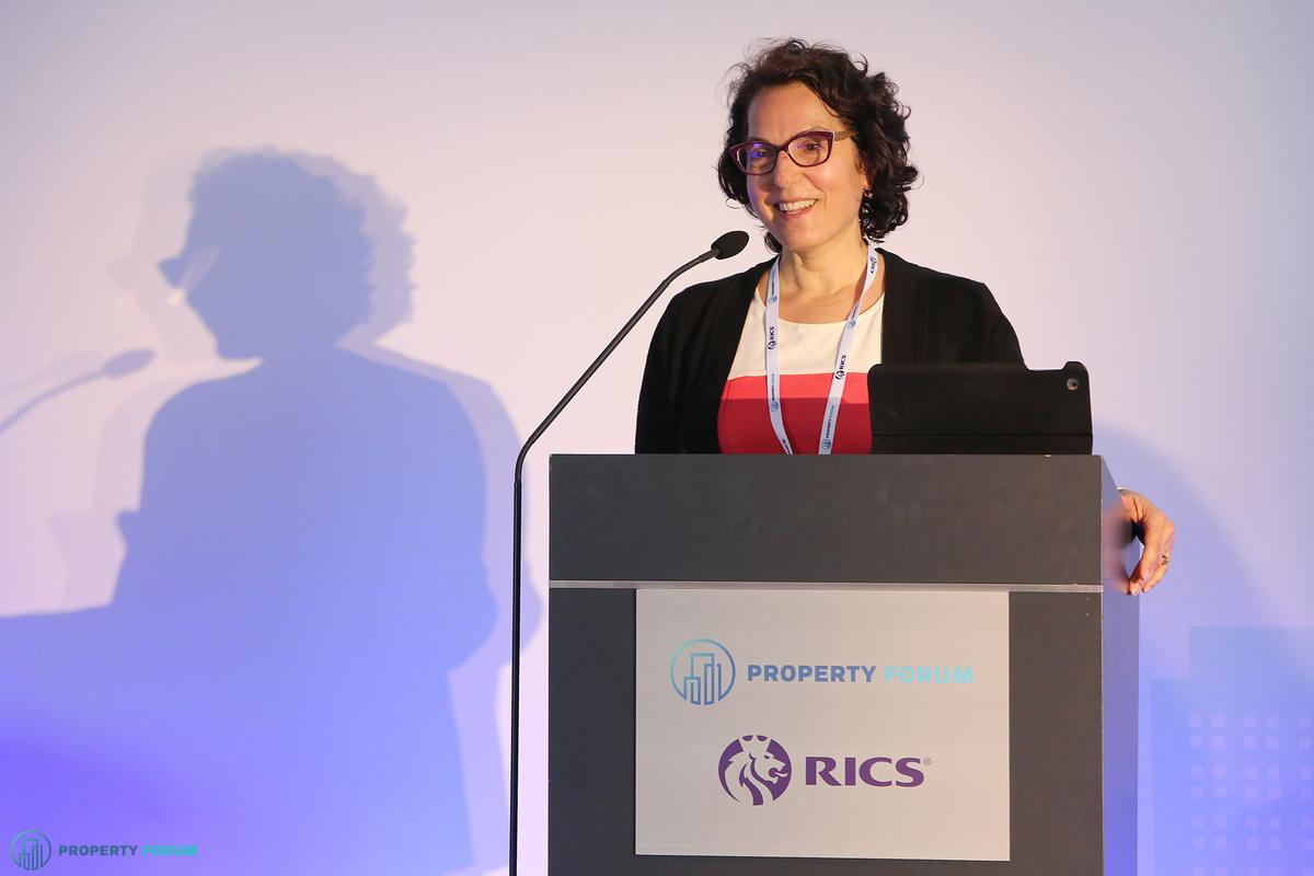 Welcome and keynote speech: Tina Paillet FRICS (Chair of the RICS Europe Board, RICS & Generali Real Estate)