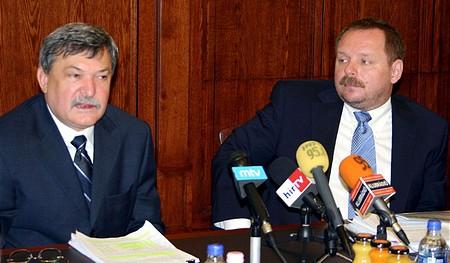 Csányi Sándor és Spéder Zoltán