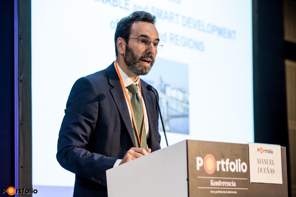 Manuel Dueñas (Head of Division, Public Sector Operations in HU, CZ, SK, EIB): Hogyan támogassuk a smart city projektek finanszírozását?