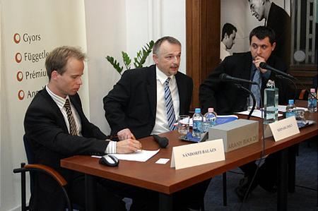 Balázs Sándorfi, Zsolt Hernádi, Péter Tordai