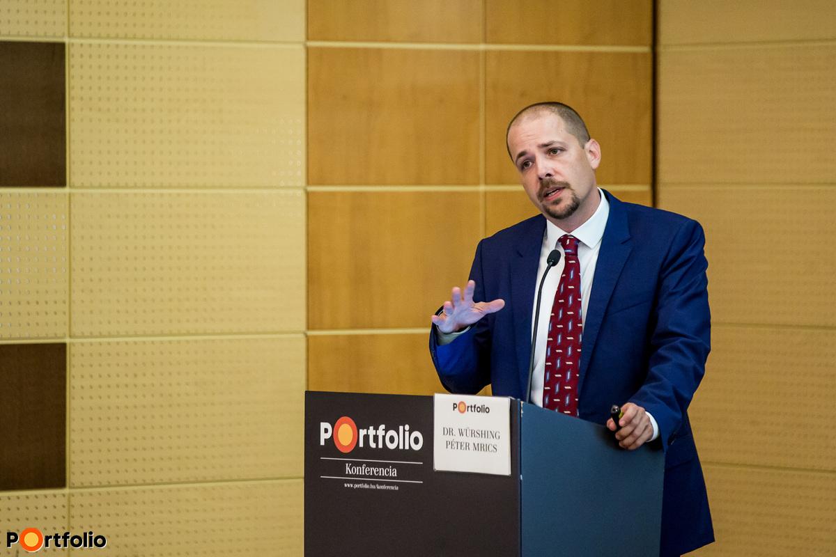 Dr. Würshing Péter (Head of leasing, JLL): Kereskedelmi ingatlanpiaci körkép, ingatlanok árazása és értékelése