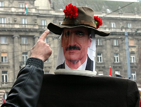 Dummy of Minister of Agriculture, Imre Németh
