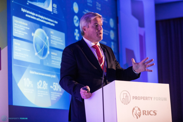 Javier Kindelan Williams (CBRE Spain) spoke about digital transformation in the property sector