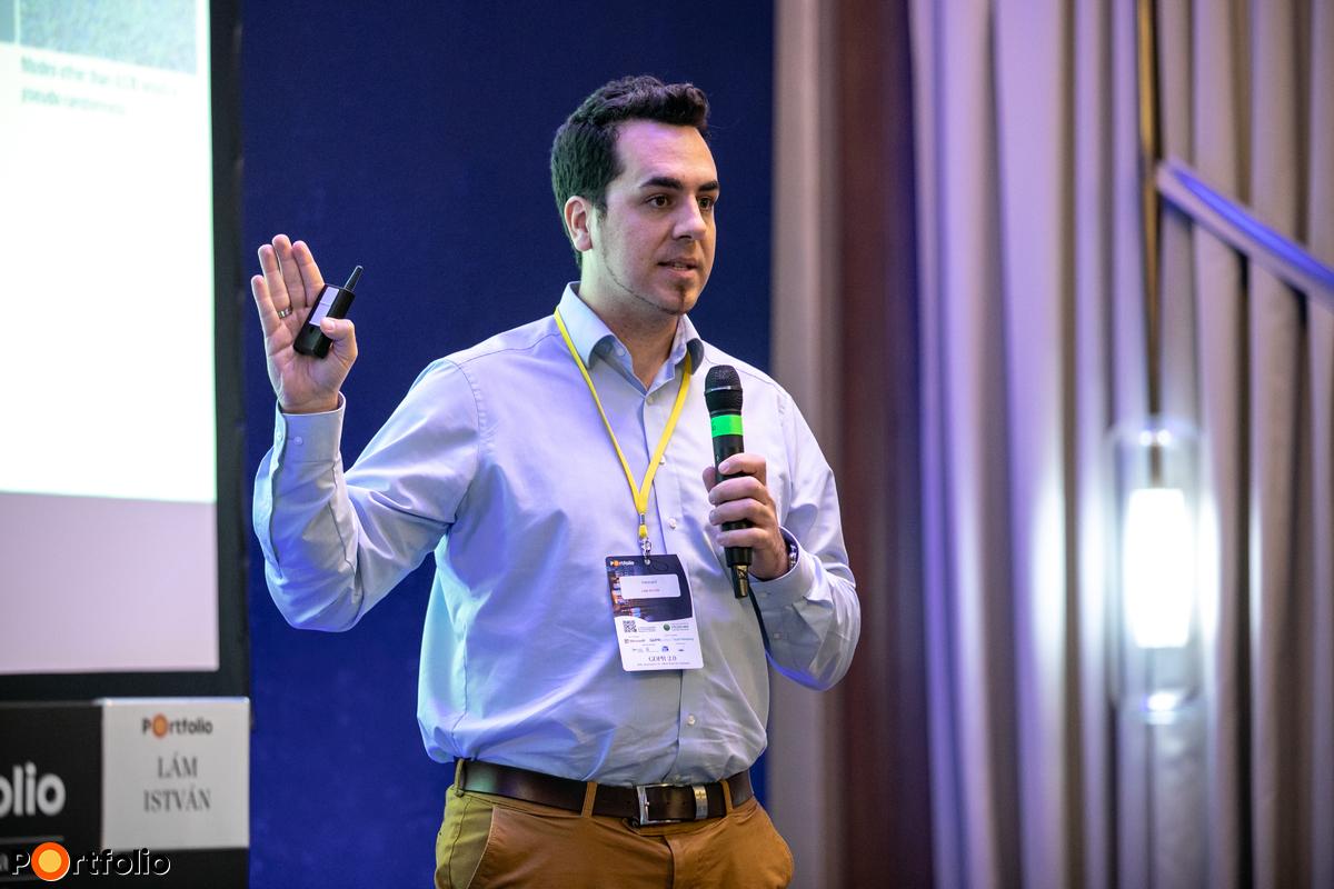 Lám István (alapító, CEO, Tresorit): Hackerbiztos adatkezelés, anonim, titkos adattárolás