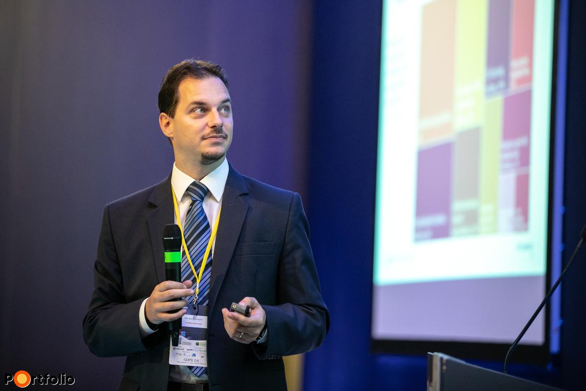 Gyimesi Csaba CISA (vezető menedzser, PwC Magyarország): Megfelelésen innen, májuson túl - hogy állunk és mit tegyünk most?