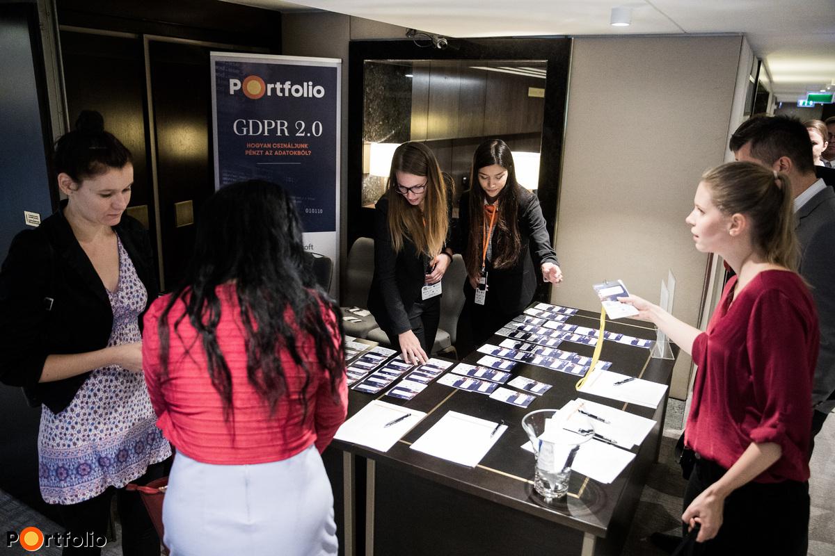 Több mint 150 fő vett részt a Portfolio GDPR Summit 2018 konferencián a Hilton Budapest Hotelben