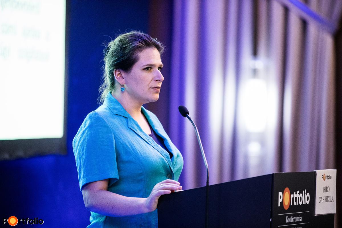 Biró Gabriella (Informatikai felügyeleti főosztály vezetője, Magyar Nemzeti Bank): Kiberbiztonság és incidenskezelés a pénzintézeti szektorban