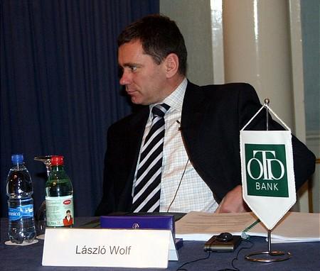 Az OTP főtárgyalója: Wolf László (Arany Bika Díj 2003)