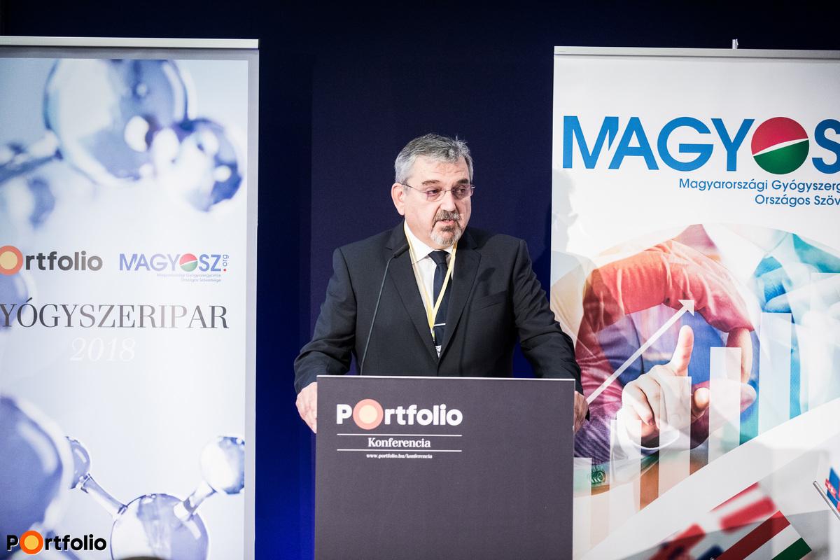 Dávid Greskovits Dr. (President, Hungarian Pharmaceutical Manufactures Association): Opening Speech