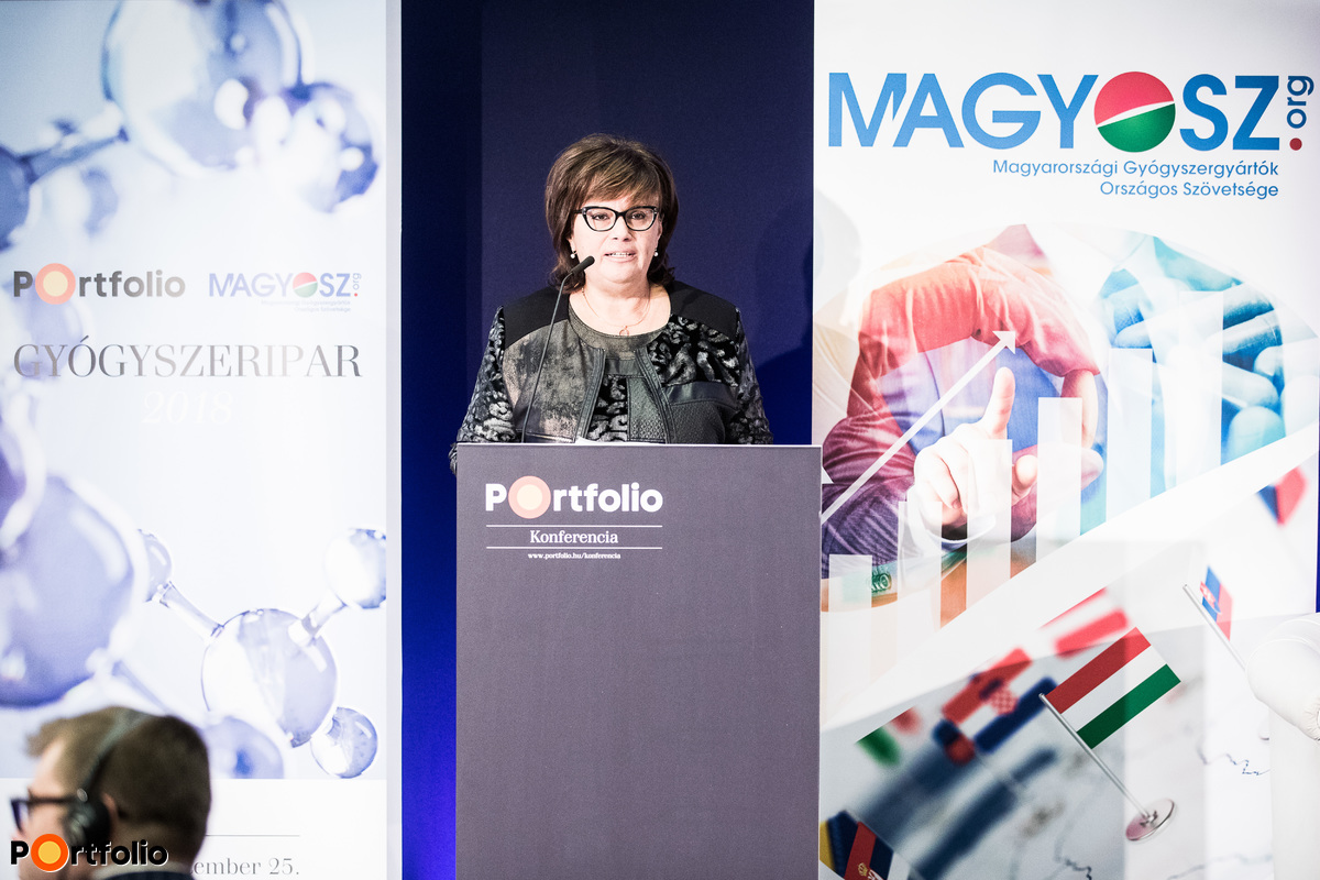 Dr. Györgyi Lengyel (Ministry for Innovation and Technologies): The strategic role of the Hungarian pharmaceutical industry and pharmaceutical innovation in the future of Hungary's economy