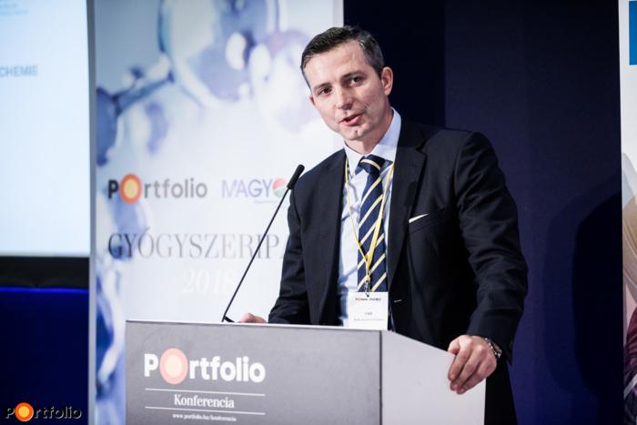 MUDr. Vojtěch Mészáros (Member of the Board, Czech Republic, České asociace farmaceutických firem (ČAFF)): Pharmaceutical manufacturing and challenges in the Czech Republic