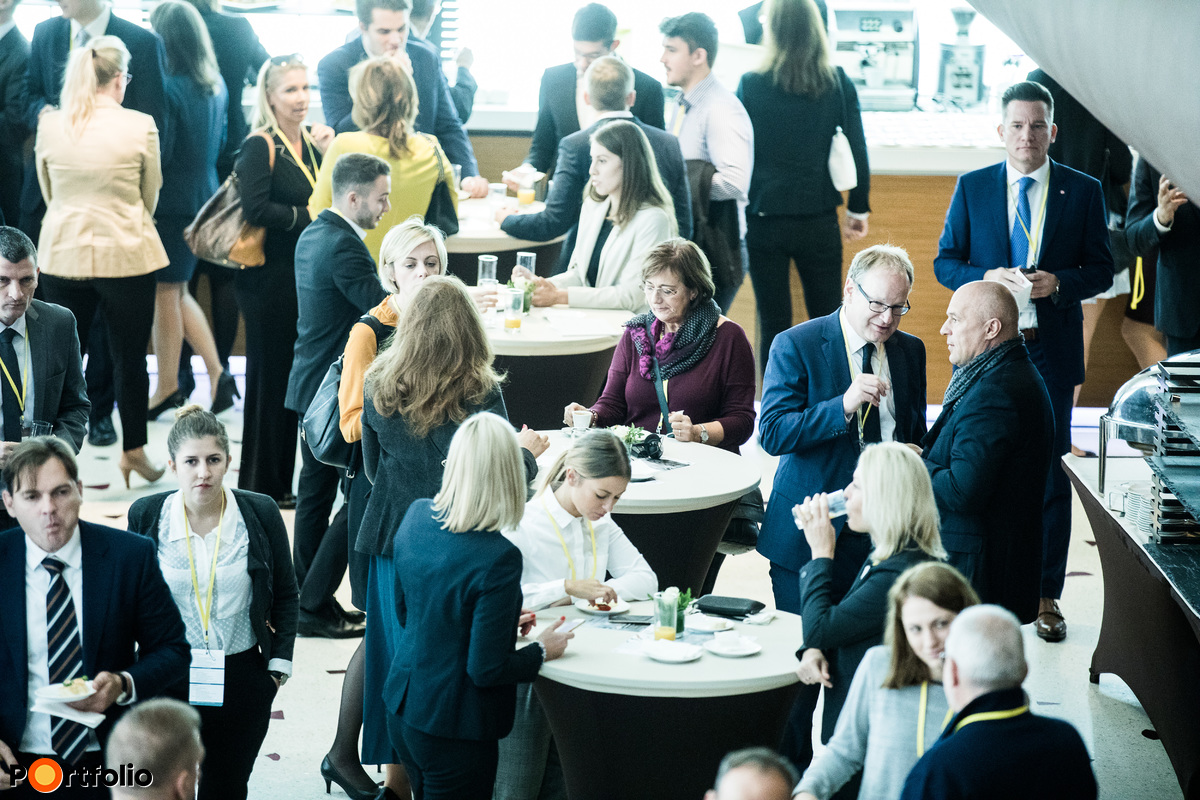 Kávészünet, networking