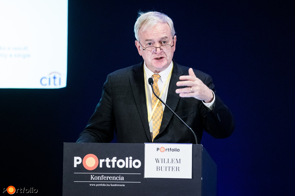 Willem Buiter (különleges gazdasági tanácsadó, Citi): Globális gazdasági kilátások és kockázatok