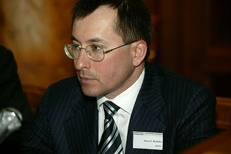 Alexey Rybnikov, a Moszkvai Értéktőzsde (MICEX) vezérigazgatója