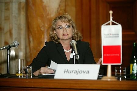 Maria Hurajova, a Pozsonyi Értéktőzsde vezérigazgatója