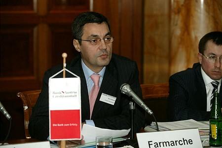 Stere Farmache, a Bukaresti Értéktőzsde elnök-vezérigazgatója