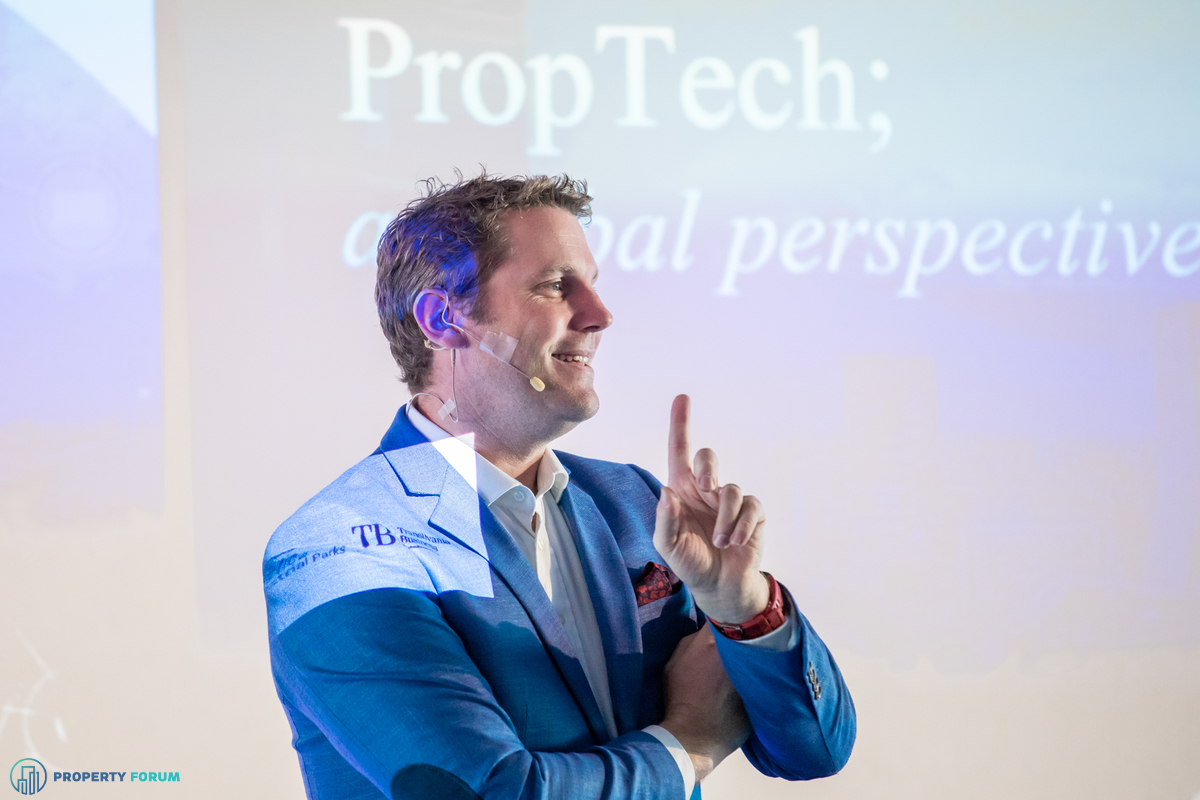 James Dearsley (Unissu) discussed key trends influencing the PropTech industry