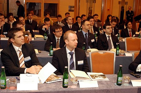 The audience of the Portfolio.hu Forint Conference