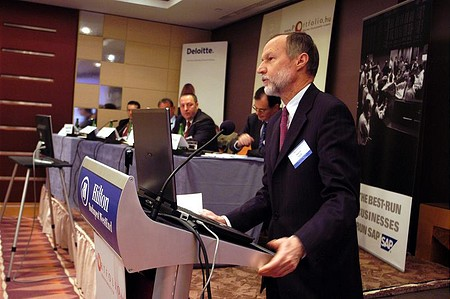 Erik Bogsch: They\'re bleeding Hungarian exporters to death... (Portfolio.hu Forint Conference)
